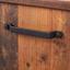 Vitrine Ontario - Eichefarben/Dunkelgrau, Trend, Glas/Holzwerkstoff (105/159/41,5cm) - Ombra