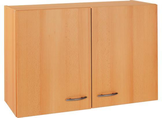 Küchenoberschrank Nano  B: 80 cm Buche Dekor - Buchefarben, MODERN, Holzwerkstoff (80/54/32cm)