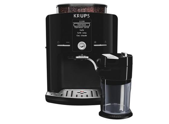Krups Kaffeevollautomat EA8298 Schwarz - Schwarz, Basics, Kunststoff (38,1/28,7/48,3cm) - Krups