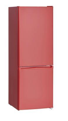 Kühl-Gefrier-Kombination in Rot