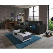 Sedacia Súprava Tommy - šedá/černá, Lifestyle, dřevo/textil (167/265cm) - Luca Bessoni
