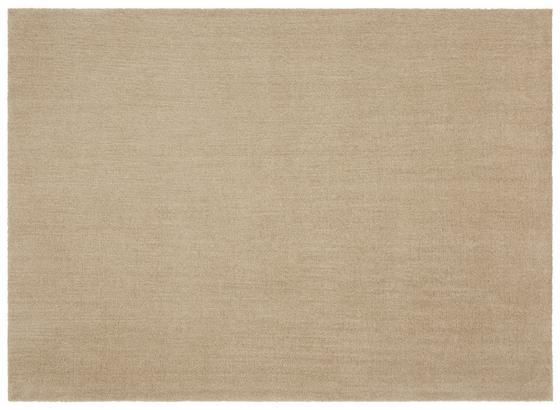 Hochflor Teppich Beige Piper 80x150 cm - Beige, Basics, Textil (080/150cm) - Luca Bessoni