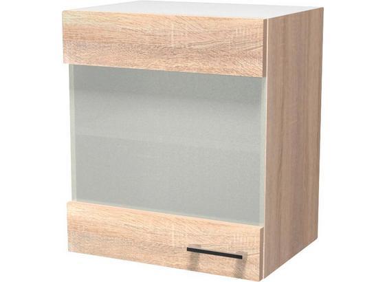 Kuchyňská Horní Skříňka Samoa  Hg 50 - bílá/barvy dubu, Konvenční, kompozitní dřevo (50/54/32cm)