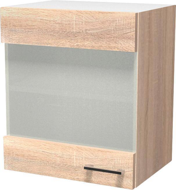 Kuhinjski Gornji Element Kuhinjski Gornji Element - bijela/boje hrasta, Konvencionalno, drvni materijal (50/54/32cm)