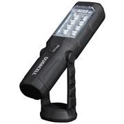 LED-Arbeitsleuchte mit Batterien 235 lm H: 22,5 cm - Schwarz, MODERN, Metall (6/22,5/4,8cm)