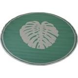 Outdoorteppich Blatt - Grün, MODERN, Kunststoff (150cm)