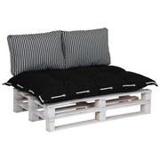 Palettenkissen 3-Tlg. Loungeset - MODERN, Textil