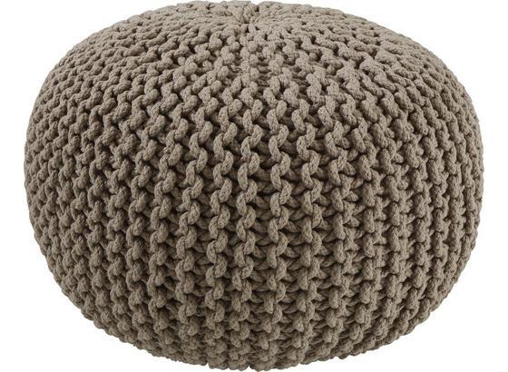Sedák Aline - šedá, textil (50/30cm) - Premium Living