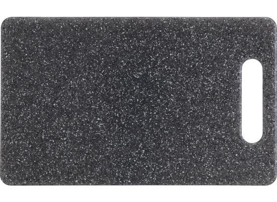 Prkýnko Stone - šedá, umělá hmota (24,8/15,1/0,8cm) - Mömax modern living