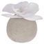 Umelá Rastlina Ines - biela, plast (9cm)