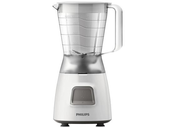 Standmixer Weiß - Weiß, Basics, Kunststoff (32/21.100/17.600cm) - Philips