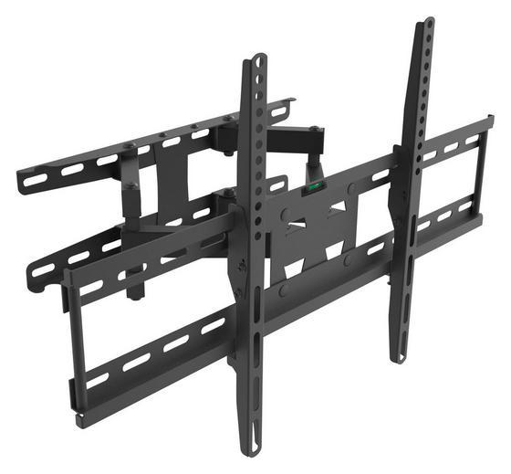 TV-Wandhalter Ax Solid 23-70 - Schwarz, MODERN, Metall (64/6,5/42cm)