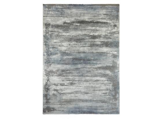 Tkaný Koberec Oxford 3 - modrá/sivá, Basics, textil (160/230cm) - Mömax modern living