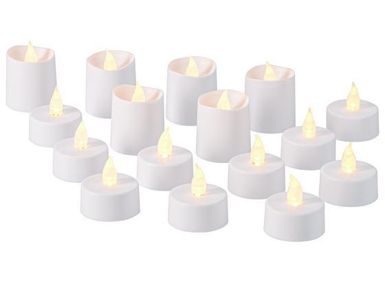 Sada Led Svíček Light - bílá, umělá hmota - Mömax modern living