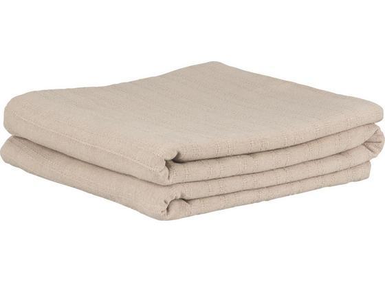 Přehoz Solid One -ext- - šedá, textil (240/210cm) - Based