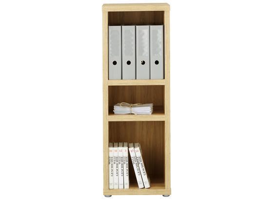 Regál Eichefarben - barvy dubu, Moderní, kompozitní dřevo (40/112,8/37cm) - Premium Living