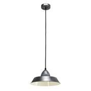 Hängeleuchte Auckland - Silberfarben, MODERN, Metall (26/110cm)