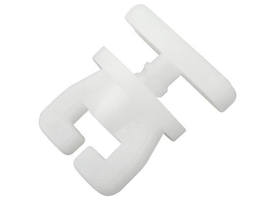 Príslušenstvo Na Koľajničky Amelie - biela, plast (1,5/1,4/1,4cm) - Mömax modern living