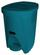 Treteimer Petrol 6 Liter - Petrol/Schwarz, KONVENTIONELL, Kunststoff (6l) - Plast 1