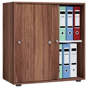 Aktenschrank Versperrbar Lona L Nuss Dekor B 70 cm - Nussbaumfarben, Basics, Holzwerkstoff (70/74/40cm) - MID.YOU