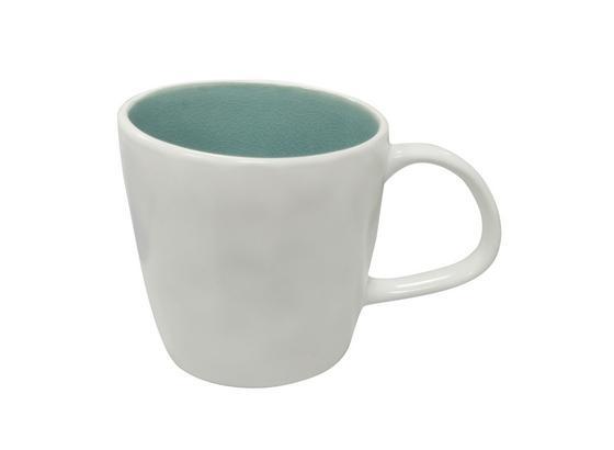 Kaffeebecher Eugenia - Blau/Weiß, KONVENTIONELL, Keramik (9,5/9,5cm) - James Wood