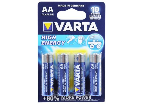 Varta Batterien Aa High Energy 4er Pack - Varta