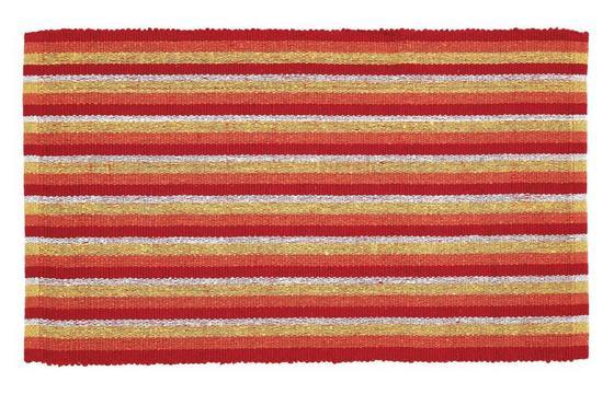 Vorleger Streak - Blau/Pink, KONVENTIONELL, Textil (50/80cm) - Homezone