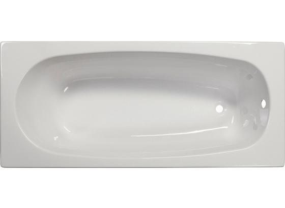 Badewanne Linea 170 - Weiß, KONVENTIONELL, Kunststoff (170/75/41cm)