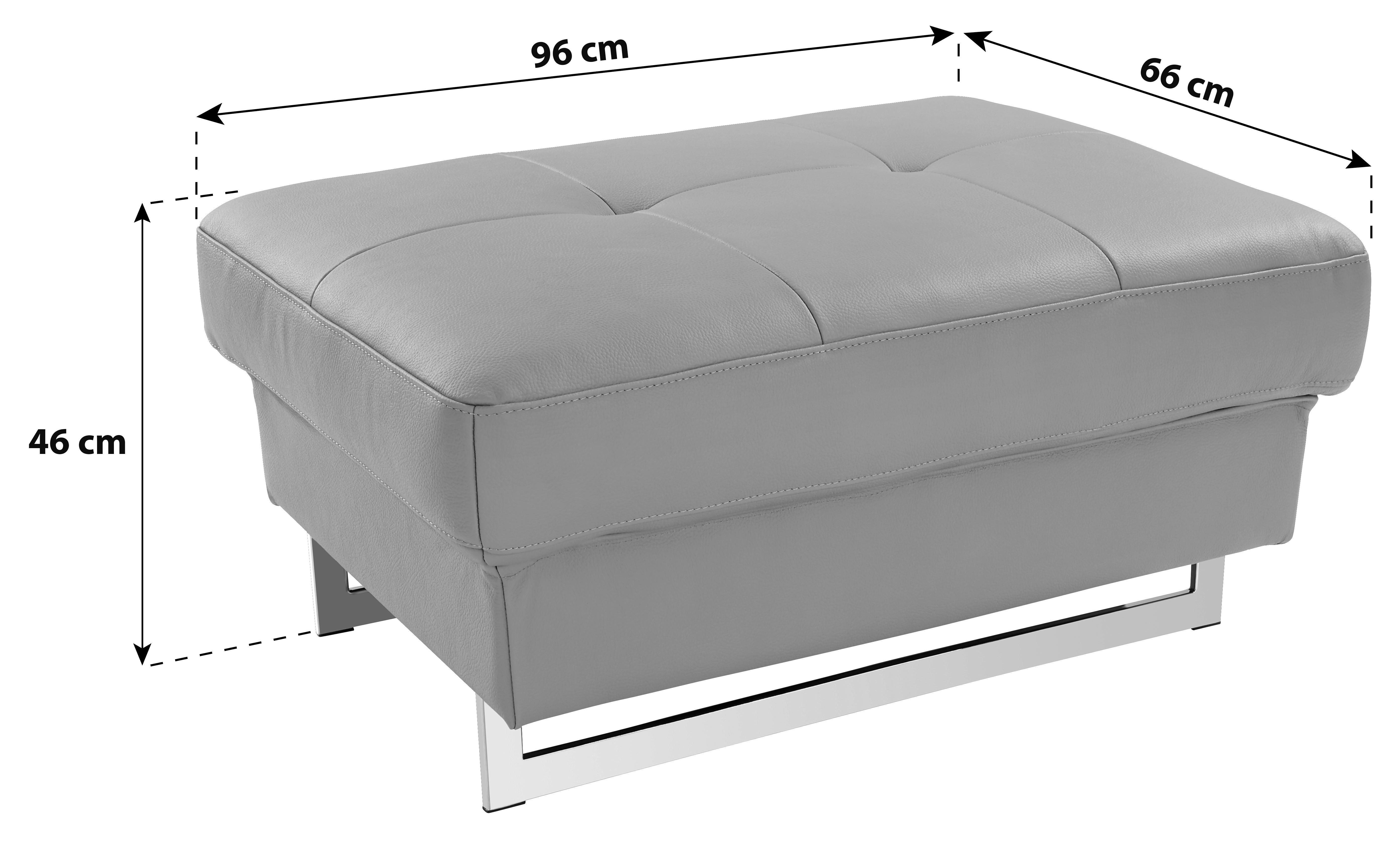 Ülőke Rockstar - homok színű, modern, bőr (96/46/66cm)