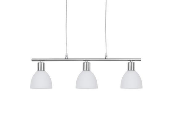 Závěsné Svítidlo Jakob - Konvenční, kov/sklo (61/110cm) - Mömax modern living