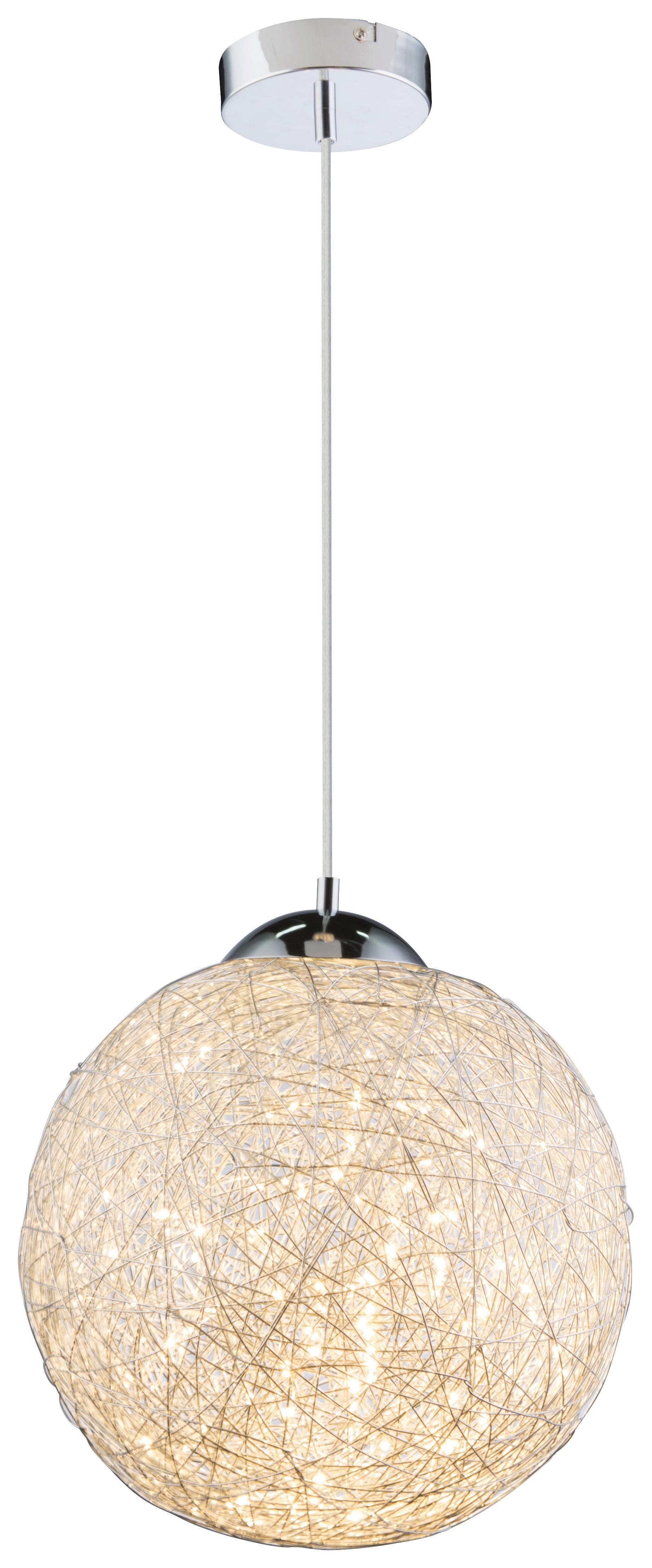 LED-hängeleuchte Tuza Ø 30 cm - MODERN, Metall (30/150cm)