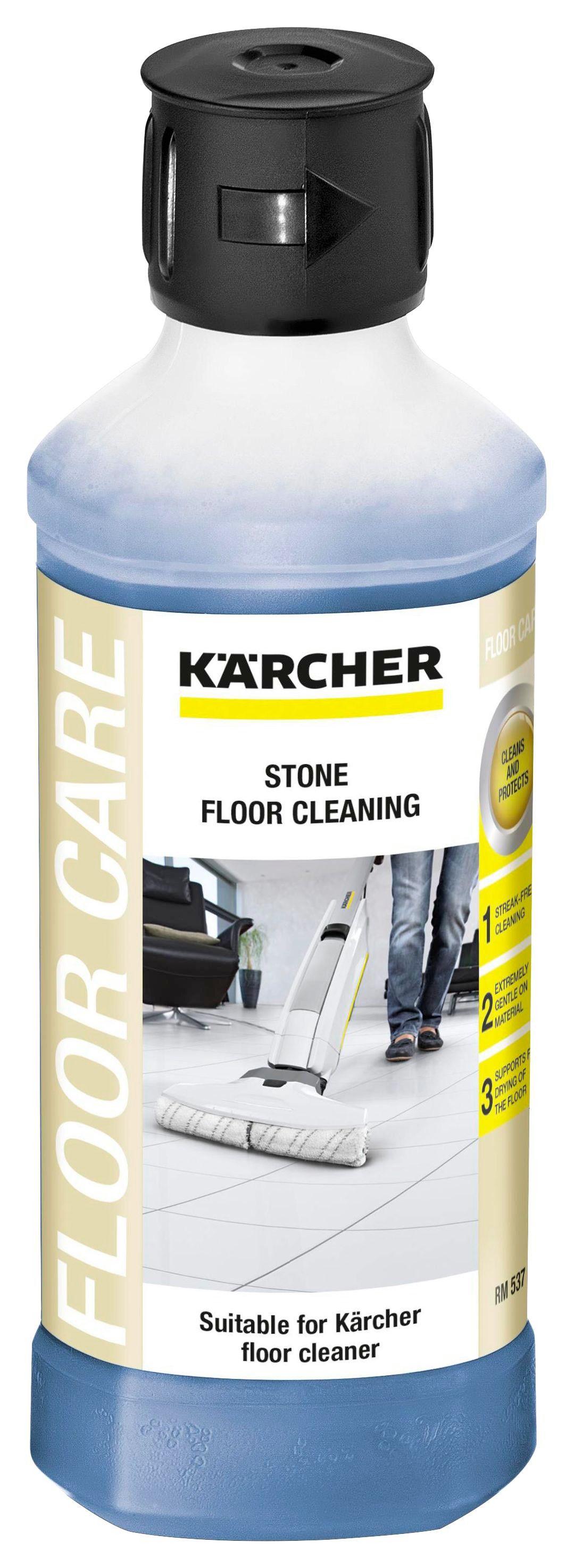 Bodenreinigungsmittel für Steinböden - Schwarz, MODERN (6,5/12cm) - Kärcher