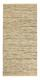 Handwebteppich Isadora 70x140 cm - Creme, Leder/Textil (70/140cm) - James Wood