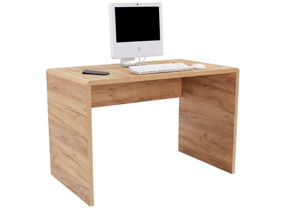 Písací Stôl Fontana Ftb03 - farby dubu, Moderný, kompozitné drevo (120/75,5/60cm)