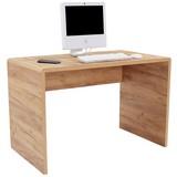 Schreibtisch Fontana - Eichefarben, MODERN, Holzwerkstoff (120/75,5/60cm)