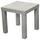 Odkladací Stolík Normen *cenový Trhák* - sivá, Moderný, kompozitné drevo (39/40/39cm)