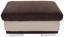 Taburet Seaside - světle šedá/hnědá, Konvenční, textilie (97/47/67cm)