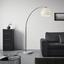 Lampa Stojací Scarlett - bílá/barvy stříbra, Moderní, kov/kámen (175/200cm) - Mömax modern living