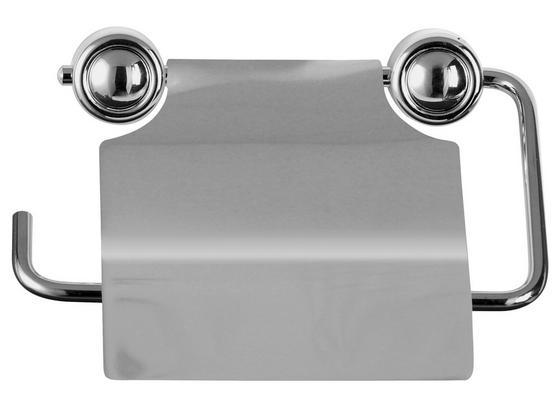Držiak Na Toaletný Papier Atlantik - farby ušľachtilej ocele/chrómová, Moderný, kov (15/3/13cm)