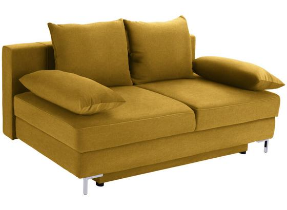 Pohovka S Rozkladom Mix It 1 Š: 200 Cm - žltá/sivá, Moderný, textil (200/92/96cm) - Luca Bessoni