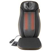 Massagesitz mit Nackenmassage - Schwarz, MODERN, Kunststoff (118/40/9cm) - Medisana