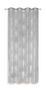 Ösenvorhang Aylin - Silberfarben, KONVENTIONELL, Textil (140/245cm) - Ombra