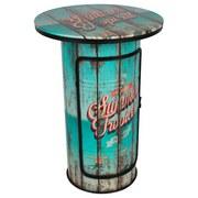 Beistelltisch Summer Tropical D: 60 cm - Multicolor, Basics, Holzwerkstoff/Metall (60/110cm)