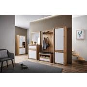 Garderobenschrank Kashmir New - Eichefarben/Weiß, MODERN (60/192/41cm) - James Wood