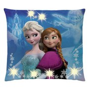 Zierkissen Disney Frozen 40x40 cm - Multicolor, LIFESTYLE, Textil (40/40cm) - Disney