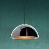 Závesná Lampa Jaden - farby chrómu, Moderný, kov (40/120cm) - Modern Living