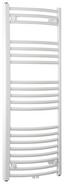 Badheizkörper Bari Gebogen,600x1188mm - Weiß, Metall (60/118,8/12cm)