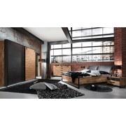 Schwebetürenschrank Detroit B: 300 cm Eichefarben - Eichefarben/Graphitfarben, Basics, Holzwerkstoff (300/218/65cm)