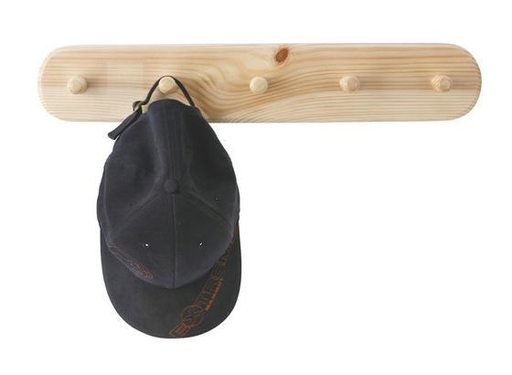 Lišta Na Háčiky Schnapp 5    -sb- - farby borovice, Konvenčný, drevo (48/9cm)