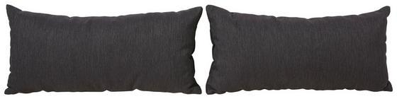 Sada Polštářů Perugia - šedá, Konvenční, textilie (75/35cm)